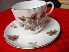 Royal Worcester Dorchester Cup & Saucer Fine English Bone China