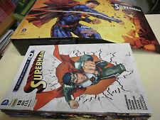 SUPERMAN DA 1 A 13 EDIZIONI LION  SEQUENZA COMPLETA NUOVA + COFANETTO