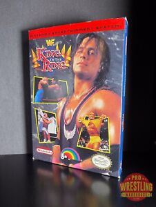 RARE WWF King of the Ring NES Nintendo Wrestling Game Complete in Box w/ Inserts