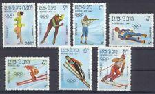 Laos Sarajevo 1984   Sport 1984  kompl. Satz   postfrisch  **
