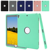Heavy Duty Shockproof Hard Case Cover For Apple iPad Mini 1 2 3 4 Air Pro