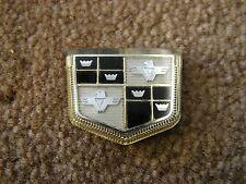 NOS OEM 1956 1957 Studebaker Dash Ornament Emblem Badge Commander Champion