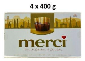 Storck-merci Finest Selection Große Vielfalt 4 x 400g Schokolade, MHD 30.06.2021