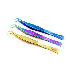 100% Vetus Stainless Steel Eyelash Extension Tweezers Volume Individual Lash Set