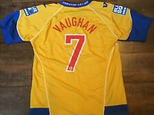2009 2010 Chester City FC Vaughan Match Worn Football Shirt Maglia Camiseta