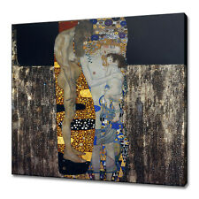 MOTHER CHILD GUSTAV KLIMT CANVAS PICTURE PRINT WALL ART HOME DECOR FREE DELIVERY