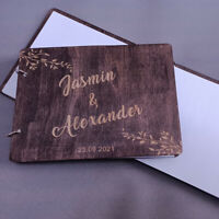 Personalized Wedding Guestbook Custom Wedding Guest Book Sign in Book Wedding