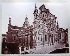 2 GRANDES PHOTOS DOS à DOS ITALIE ITALIA CERTOSA DI PAVIA - EDITION BROGI ita4