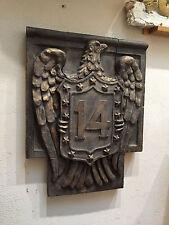 NYC subway 14th St Eagle plaque Nº S2 Urbansculptures