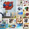 3D Wall Stickers Removable Cartoon Kids Nursery Room Home Decor Mural Art Decal