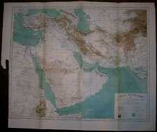 1884 Reclus map MIDDLE EAST (#6)
