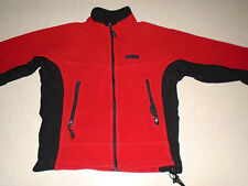 Cloudveil Outdoor Gear Mens Red & Black Rugged Pocket Fleece Jacket Made in USA