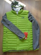 The North Face Reversible bomber mens hooded jacket coat  Size M NEW+TAGS