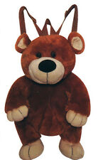CALPLUSH BACKPACK PALS SERIES  BEAR PLUSH BACKPACK AGES 3+ *NEW*