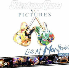 STATUS QUO - Pictures - Live at Montreux 2009 - CD - NEU/OVP