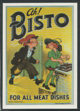 Pc2 5 X Advertising Postcards Bisto Brasso Dorma Spangles & Germolene