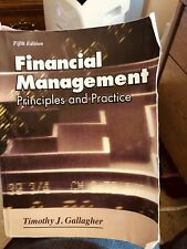 Financial Management Principles and Practice by Gallagher (Softcover) Used