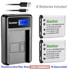 Kastar NP-45 NP-45A Battery Charger For Fujifilm FinePix XP10 XP60 J10 J20 J100