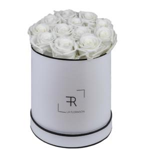 la floraison edle jahrelang haltbare Rosenbox mit ewigen Rosen