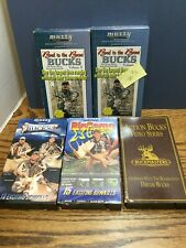 "Lot of 6 Vhs Hunting Vcr Videos, Muzzy ""Bad to the Bone"" & More"
