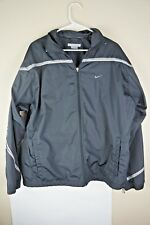 Nike Windbreaker Fall Jacket Large Black