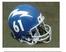 WINNIPEG BLUE BOMBERS 1961 THROWBACK MINI FOOTBALL HELMET