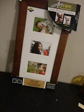 "COLLAGE FRAME 3 MULTI OPENING 3"" X 6"" EACH ART CARE PHOTO GUARD FRAME"