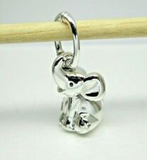 Authentic Pandora #798069 Sterling Silver Elephant Dangle Charm