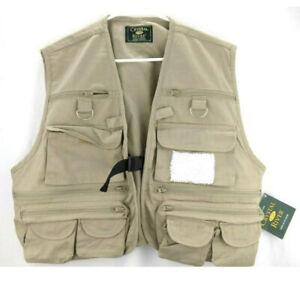 Crystal River Utility Vest hunting Fishing Sleeveless Jacket size XL_ 17 pockets