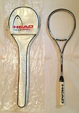 """New Head Competition Sx2 Squash 27"""" Racquet With Original Case"""