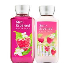 Bath & Body Works Sun-Ripened Raspberry Body Lotion + Shower Gel Duo Set