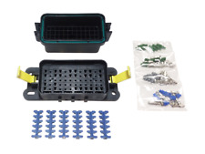 HWB60-ALNG Waterproof Fuse Relay Panel Kit with Terminals 12V Universal