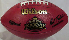 Wilson Super Bowl XXXVII Official Game Football (37) - Tampa Bay Buccaneers