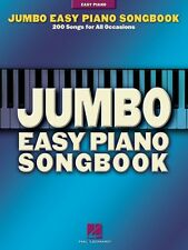 Jumbo Easy Piano Songbook Sheet Music 200 Songs for All Occasions Song 000311014