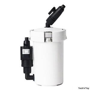 SUNSUN HW-602B MINI AQUARIUM EXTERNAL CANISTER FILTER 106 GPH UP TO 20 GALLON