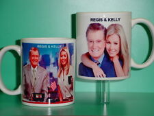 REGIS Philbin & KELLY Ripa - with 2 Photos - Designer Collectible GIFT Mug 01