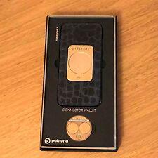Genuine Patrona Portafoglio coccodrillo Edizione Limited Blue Pearl CASE iPhone 5