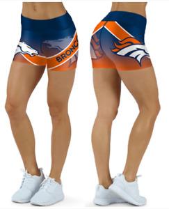 Denver Broncos Small to 2XL Women's Shorts