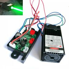 Industrial 100mW 532nm Green Laser Diode Module Fat Beam Led Lights 12V