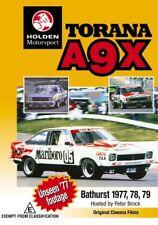 Torana A9X NEW DVD (Region 4 Australia)