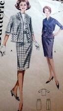 LOVELY VTG 1960s DRESS BUTTERICK Sewing Pattern 16/36