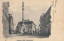 NP5530 - PALERMO - COLONNA DELLA CONCEZIONE VIAGGIATA 1902