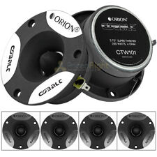 "4 Orion Cobalt 3.75"" Super Tweeters 200 Watts Max Power Car Audio 2 Pair CTW101"
