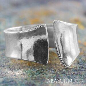 Silberring Silber 925 Ring  Verstellbar Offen R0832 🎁