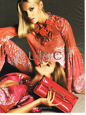 PUBLICITE ADVERTISING 104  2013   GUCCI  collection sacs maroquinerie