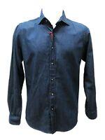 GUY Camicia Jeans in Cotone M/L Regular fit Uomo in Col denim tag varie M40706