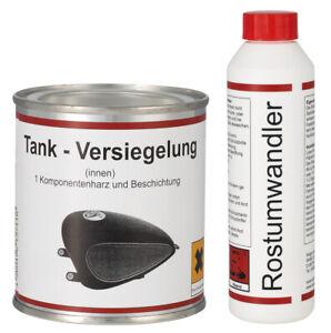 WAGNER SPEZIALSCHMIERSTOFFE 1x Tankversiegelung 250 ml & 1x Rostumwandler 250 ml