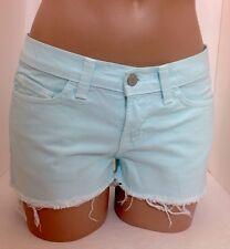 Jbrand Shorts Aqua Denim  Size 24