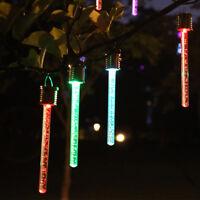 LED Solar Hang Pendelleuchten Bunte Outdoor Garten Lampe Kronleuchter ZP