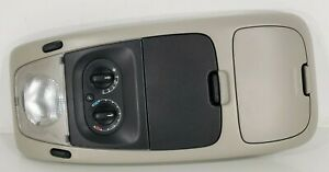 02 - 10 Ford Explorer Overhead Console With Rear Climate Control And Map Lights